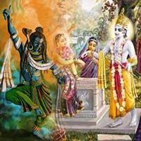कृष्ण प्रेम में शिव बने गोपी ! (Shiva Became a Gopi in the Love of Krishna!)