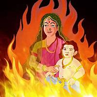 जानिए होलिका दहन की पौराणिक कथा (Know the Legend of Holika Dahan )